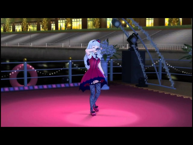[iDOLM@STER] Kyun! Vampire Girl - Takane Solo (60FPS)