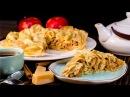 Блинный пирог с яблоками Рецепт блинов с карамелизированными яблоками