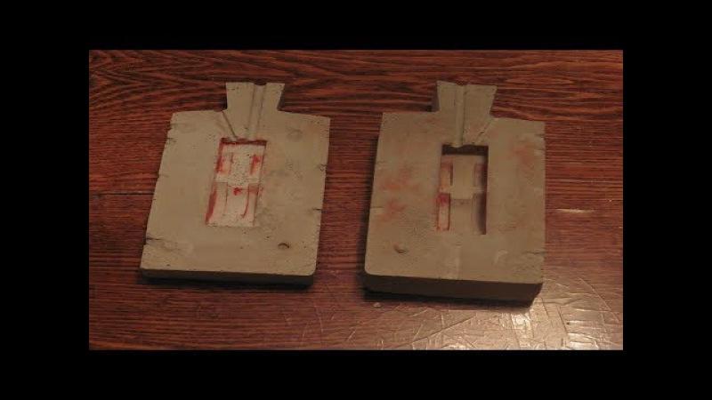 Как сделать паровой двигатель компаунд 2 часть Изготовление гипсовой формы дл