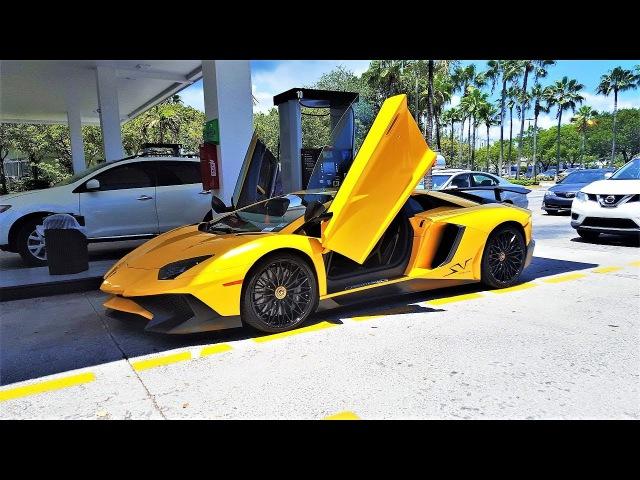 Lamborghini Aventador SV LP 750-4 Superveloce ANGRY BULL Ride From Lamborghini Miami