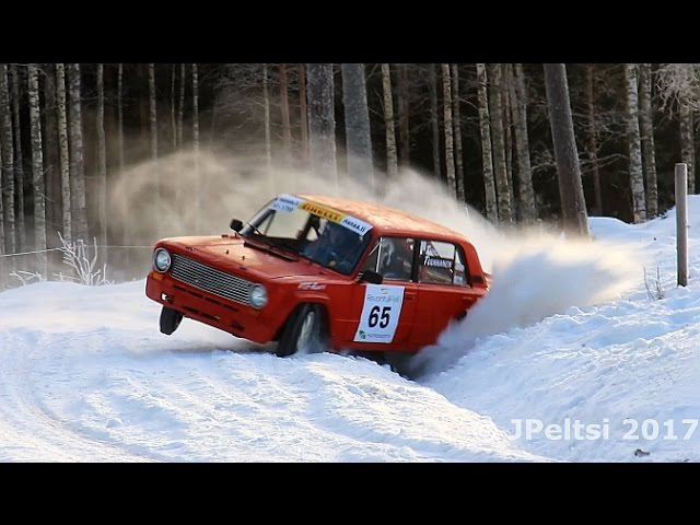 Rallying in Finland Winter 2017 by JPeltsi