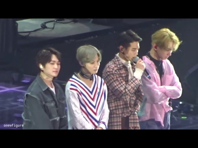 180217 SHINee WORLD THE BEST 2018 〜FROM NOW ON〜 Ending Ment