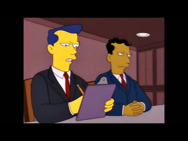 Simpsons in witness relocation programm
