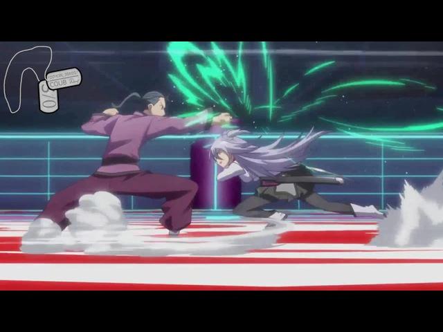 Kirin Toudou and Saya Sasamiya VS Another School · coub, коуб