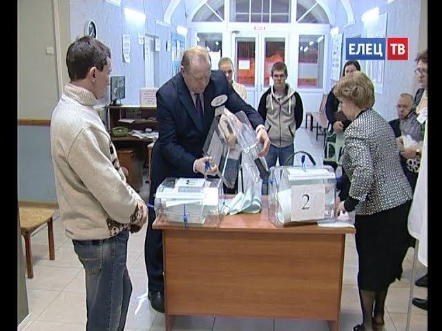 Выборы состоялись Территориальная избирательная комиссия Ельца огласила результаты голосования