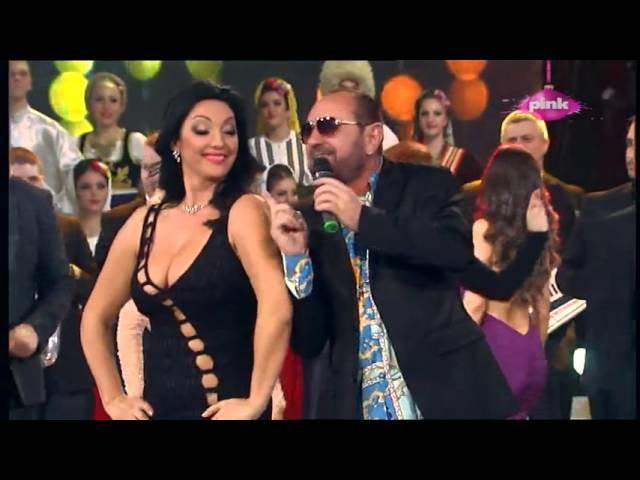 Mile Kitic - Kilo dole kilo gore - Pinkovo novogodisnje veselje - (TV Pink 31.12.2015.)