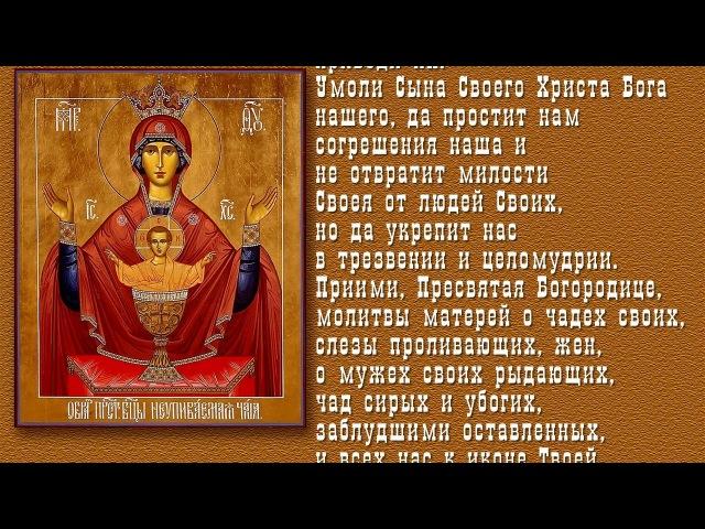 Самая сильная молитва от пьянства перед иконой Неупиваемая чаша