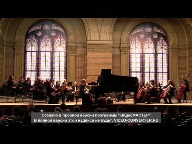Р.Шуман. Концерт для фортепиано с оркестром ля минор ор.54 1 часть.