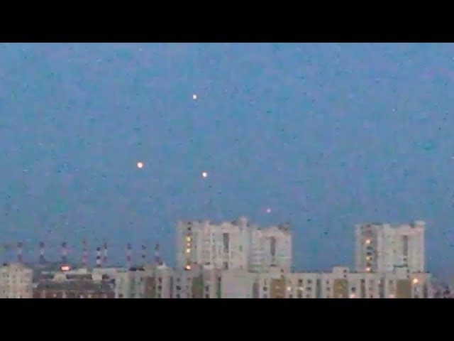 UFO over Moscow,Russia 26.07.2017