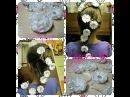 Зачіска зі стрічкою в косу Прическа с лентой в косу