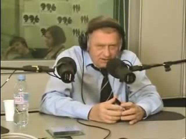 Интервью с Жириновским