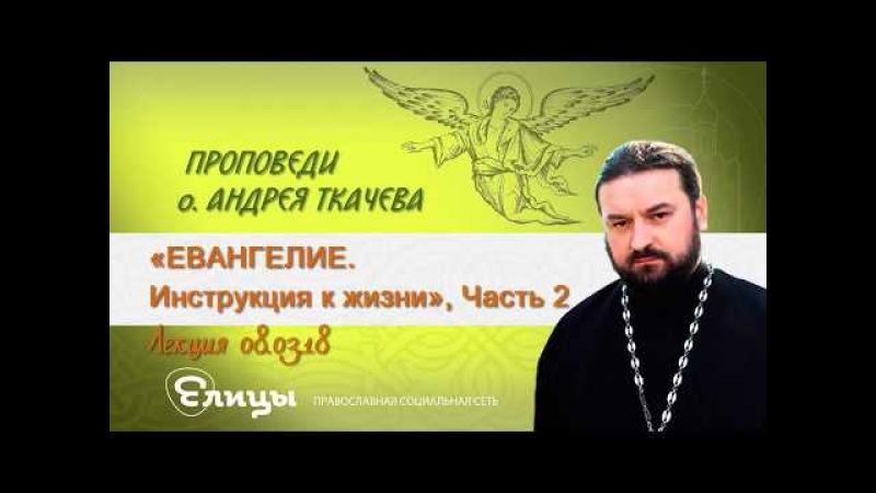ЕВАНГЕЛИЕ. Инструкция к жизни, часть 2. Протоиерей Андрей Ткачев