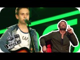 Jamie Lawson - Wasn't Expecting That (Luca) Blind Auditions The Voice Kids 2017 SAT.1