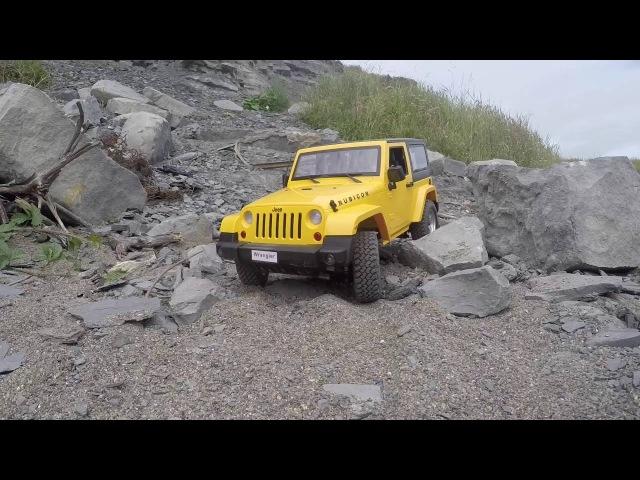 1/10 RC Jeep JK Rubicon hard body