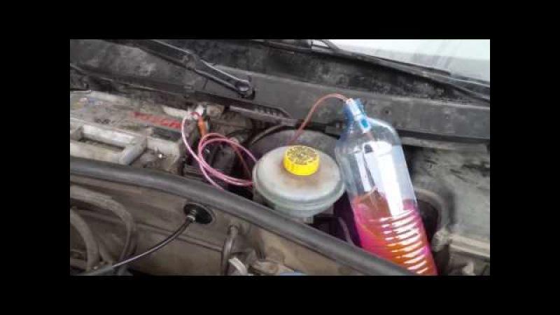 Audi A4 B5 AEB Выпуск воздуха с помощью капельницы