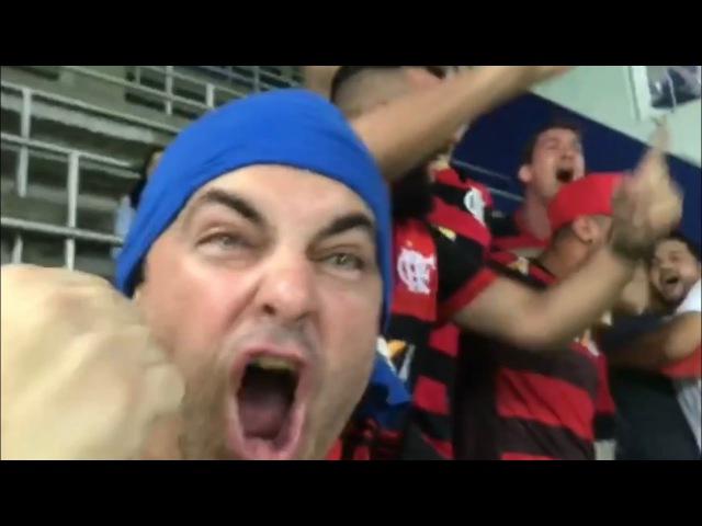 Que Vitória Que Pós Jogo Que imagens Vlog Gols da Arquibancada Los Vinte de Guayaquil