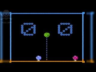 [Famiclone-PAL]Y-A1 Угадайка Английский для начинающих Призовая игра Волейбол - Gameplay