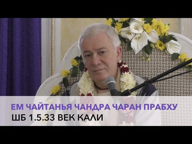 Чайтанья Чандра Чаран Прабху - ШБ 1.5.33 Век Кали (Алматы 2017)