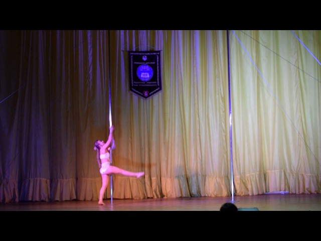 Калмикова Валерія Олександрівна Sunrise Pole Studio POLE DANCE Дорослі жіноча категорія нап...