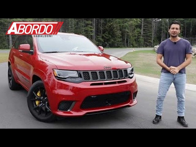 Jeep Grand Cherokee Trackhawk 2018 Prueba A Bordo Completa