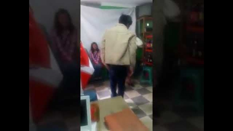 Tradition in Peru - mother in law must beat the son in law before marriage