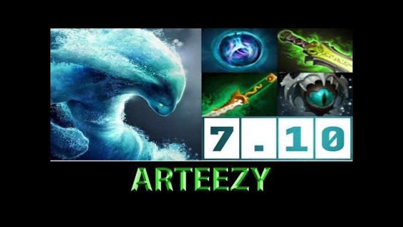 Arteezy [Morphling] The New Meta Hero ► Dota 2 7.10