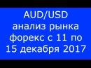 AUD USD Еженедельный Анализ Рынка Форекс c 11 по 15 12 2017 Анализ Форекс