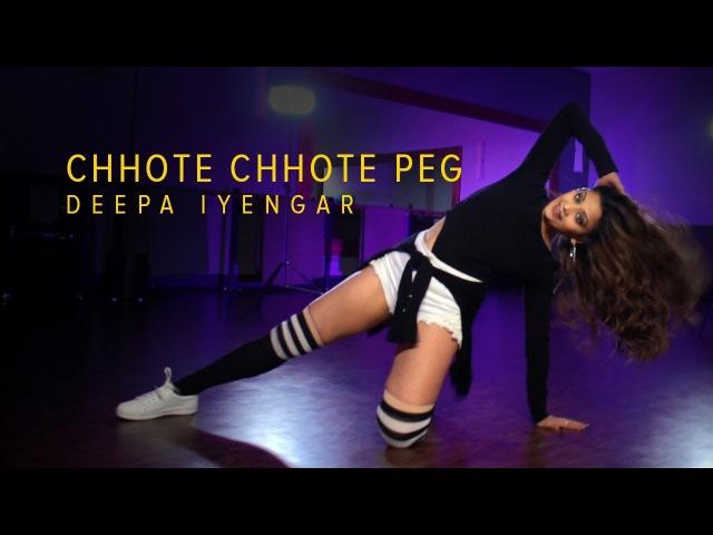 Chhote Chhote Peg - Sonu Ke Titu Ki Sweety   Bollywood Hip hop Dance   Deepa Iyengar Choreography