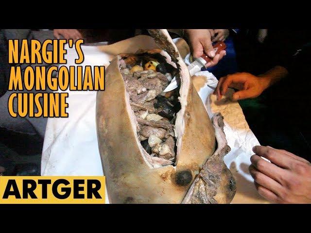 Nargies Mongolian Cuisine BOODOG (Real Mongolian Barbeque) S1E2