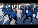 Поздравление студии танца Арабеск на митинге посвященному 23 февраля