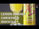 XS Power Drink - Lemon Orange Christmas cocktail