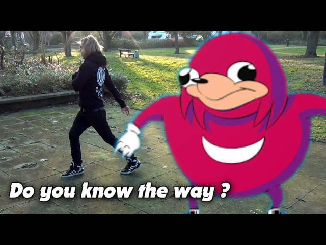 DO YOU KNOW THE WAY - Ugandan Knuckles (Melbourne Shuffle)