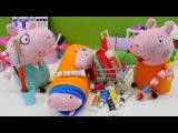 Familie Wutz renoviert ihr neues Haus - Spielzeugvideo f