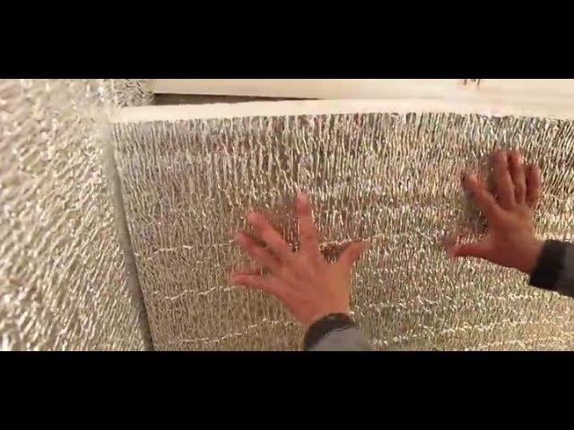 Утепление балкона без заморочек! Технология Тепофол (12)