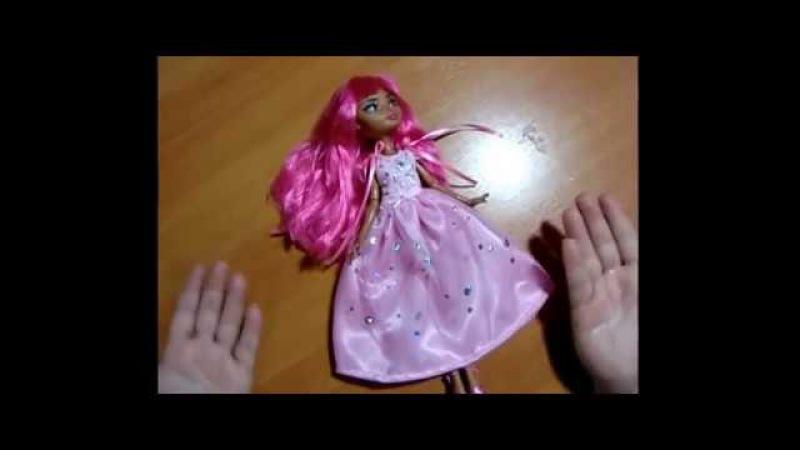 Новогоднее Бальное Платье Для кукол Своими Руками!