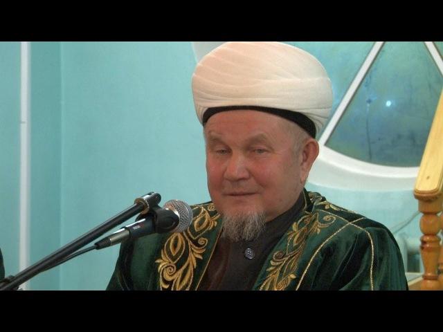 Җәлиль хәзрәт Фазлыев вагазе, 04.01.2018 ел.