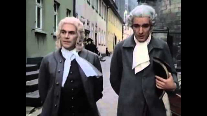 Johann Sebastian Bach Film in 4 Folgen. 1 Teil Die Herausforderung