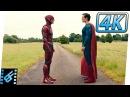 The Flash vs Superman Race  Mid Credits Scene   Justice League (2017) Movie Clip