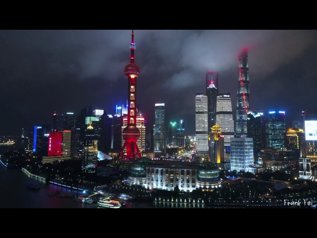 The Red Shanghai《2017国庆献礼-红色上海》Aerial Photography Drone 4K