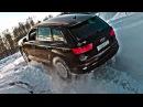 По следам Ленд Крузер 200 на КУ7 Ауди которая смогла Тест драйв Audi Q7 2017 видео с YouTube канала Clickoncar