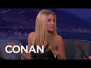 Annabelle Wallis: Tom Cruise Scrapped Our Kissing Scene - CONAN on TBS
