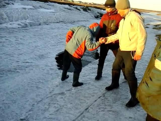 Ломаем лед по русски