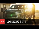 Lexus LX 570 Mikes Family Beast 24 Vossen Forged S17-01
