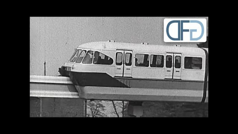 Als die Frankfurter zwischen U-Bahn und Hochbahn entscheiden mussten (TV-Bericht, 1960)