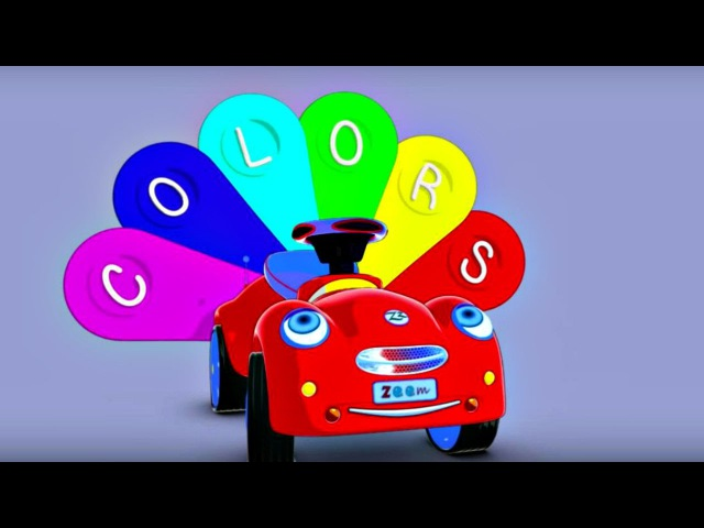 Eğitici çizgi film - Zeem Zoom - Renkler öğren! küçükçocuklariçin