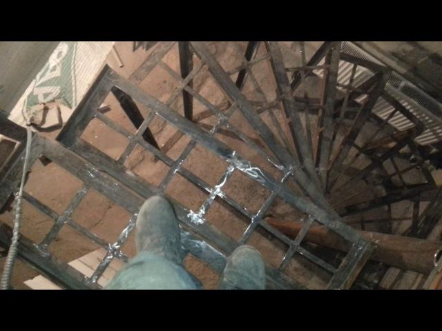 Винтовая лестница своими руками!Совет!Обзор!