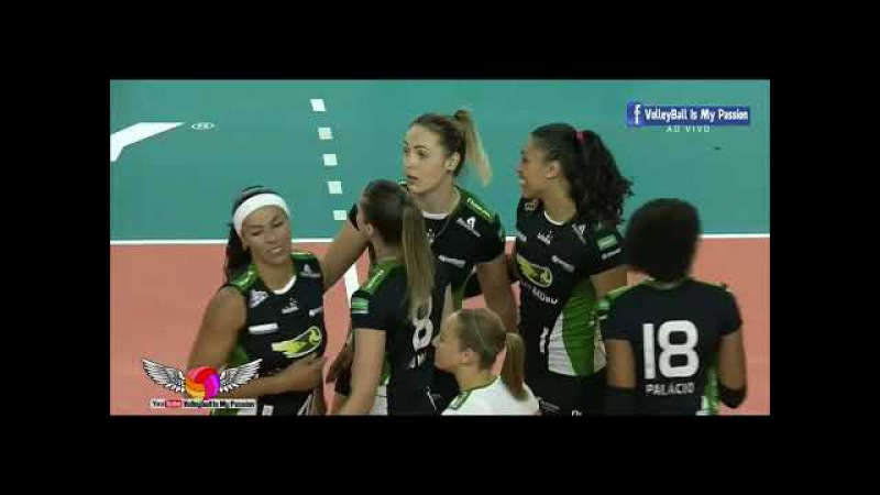 [HD] Volei Bauru vs Minas | 08-11-2017 | Brazil SuperLiga Women 2017/2018