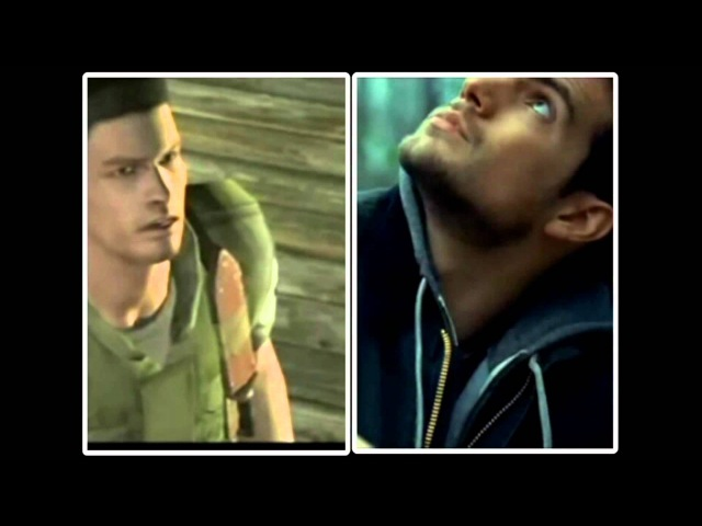 Resident Evil Movie - Henry Cavill As Chris Redfield (Comparisons and Similarities)
