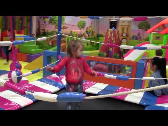 VLOG Детская игровая комната развлекательный центр children's playroom entertainment center