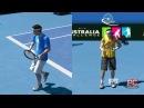 Роджер Федерер vs Рафаель Надаль Australian Open Virtua Tennis 3